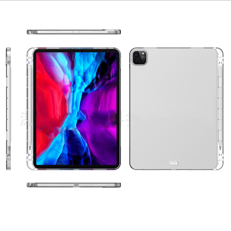11 iPad 2018 A2379 Pro With A2461 2020 Pencil A2459 Pro Pro Holder A2031 Silicone 12.9 Capa 2021 For 11 Case iPad For 12.9 2021
