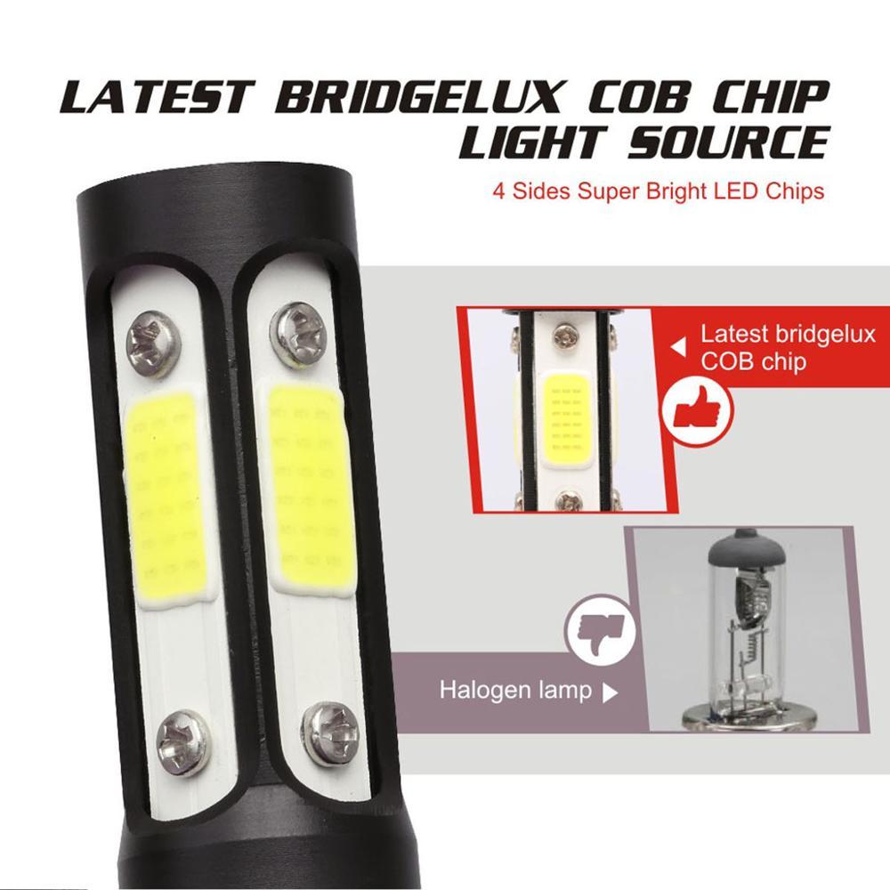 Shipping by DHL Auto H4 LED H7 H11  9006 HB4 H1 H3 HB3 Car Headlight Bulbs 80W 12000LM High Low Beam Automobiles Lamp 6500K 12V