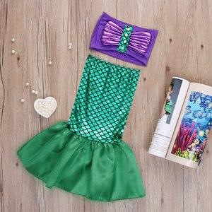2019 сексуальные костюмы для маленьких девочек, платье принцессы Ариэль, косплей-костюм принцессы Ариэль, платье русалки
