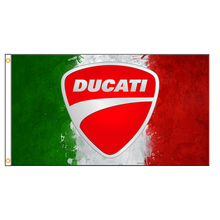 90x150cm  DUCATI Motorcycle flag for decoration