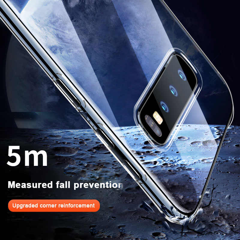 Air Bag Thick Armor Clear Phone For Samsung S10 S9 S8 Plus S7 Edge Note 8 9 10 Pro A6 A8 Plus 2018 S10e A30 A50 A10 A20 A70 A40
