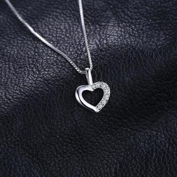 Heart Sterling Silver Pendant Necklace 1