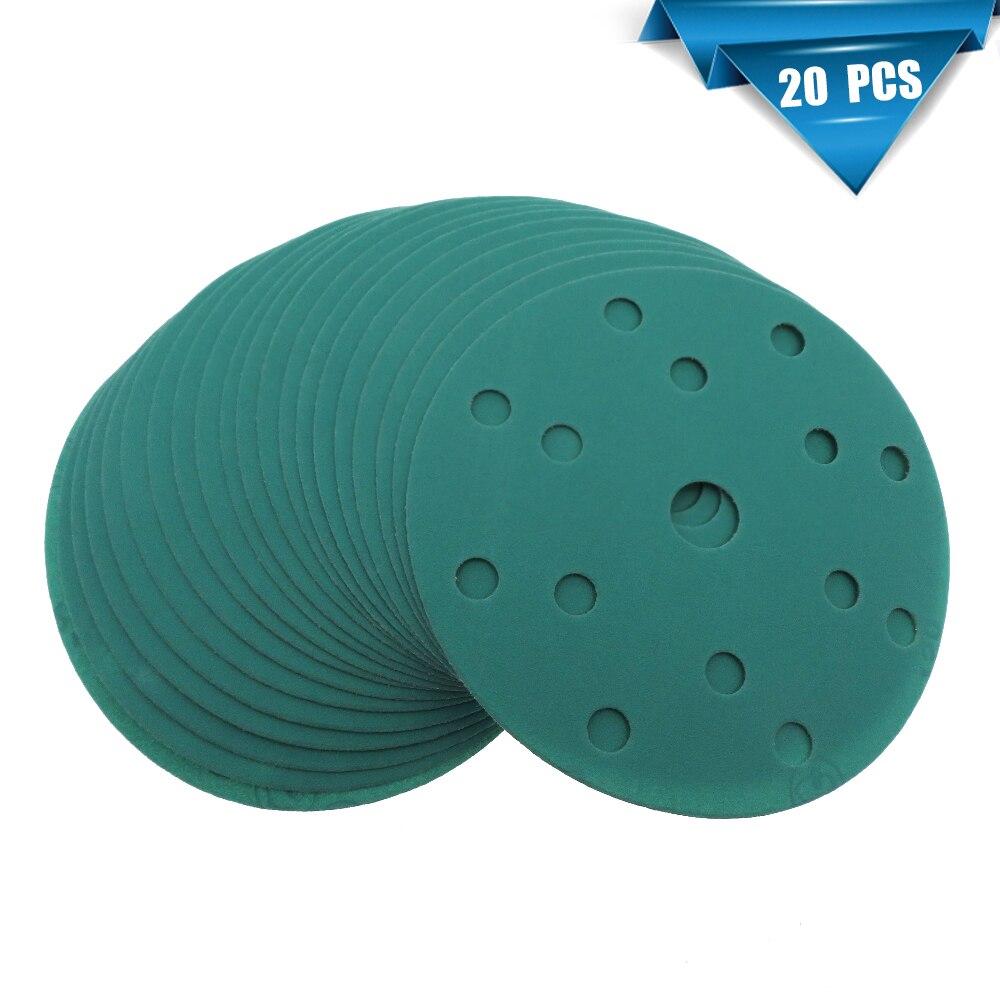 10 Pack Hook And Loop Sanding Grinding Abrasive Pad 400 Grit 6/'/' inch 150mm