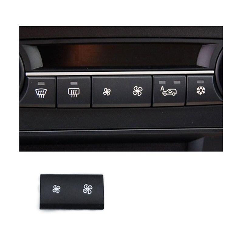 Heater Climate A//C Air Conditioning Wind Air Volume Control Button Cover Cap For for BMW 1//3 Series E81 E87 E90 E91 X1 E84 MASILVA