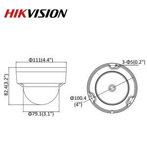 Image 5 - Cámara IP Original Hikvision 8MP Domo fijo ir DS 2CD2185FWD I cámara de red POE H.265 seguridad CCTV actualizable H.265 IP67