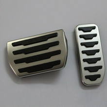 Footpeg, Спортивная педаль тормоза для Land Range Rover Evoque 12-18, спортивные тормозные колодки, педаль тормоза, крышка педали, чехол для хранения