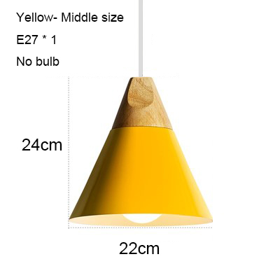 Yellow 220mm no bulb