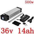 36В 14ач 500 Вт Батарея для велосипеда 36В 10ач 12Ач 14ач литиевая батарея 36В батарея для электрического велосипеда Нижняя разрядка Бесплатная дос...