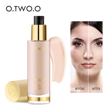O.TWO.O Liquid Foundation Invisible Full Coverage Make Up Concealer Whitening Moisturizer Waterproof Makeup Foundation 30ml(China)