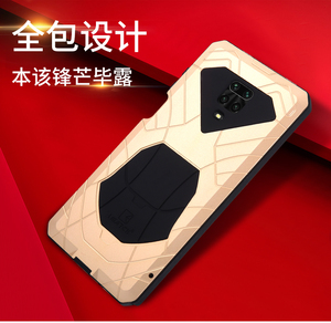Image 4 - IMATCH Aluminum Metal Silicone Shockproof Case Cover For Xiaomi Redmi Note 9S Pro Max / Note 8 Pro Dirt Shock Proof Cover Case