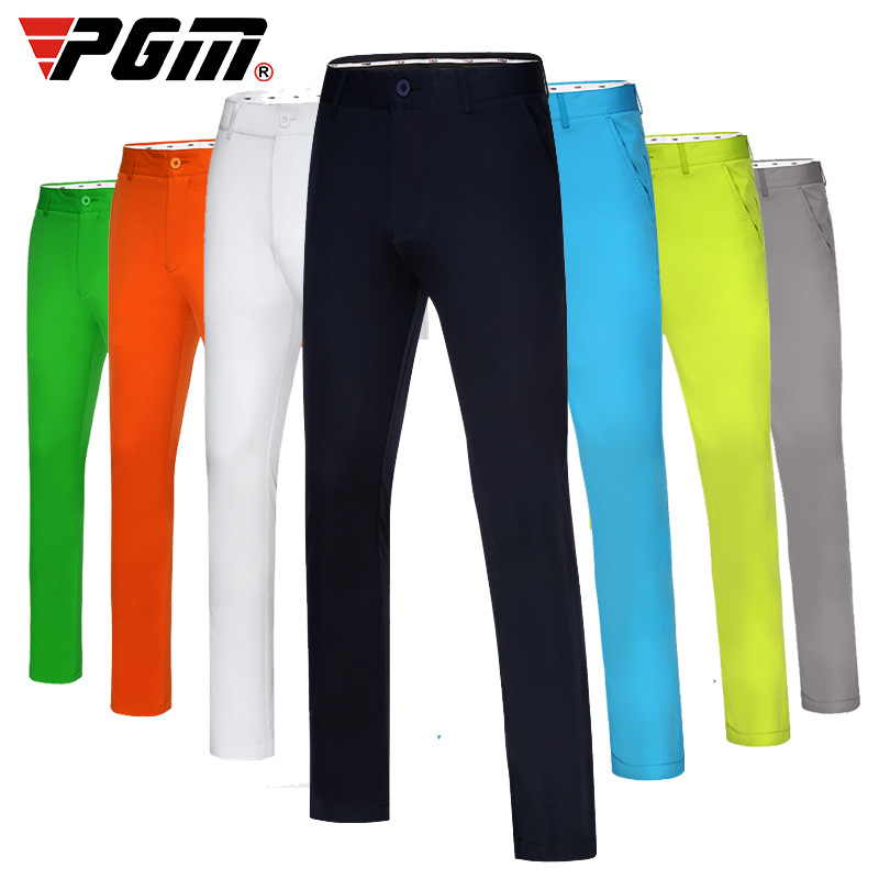 PGM Golf pants Men Wear Slim Pants Full Long Thin Trousers Straight Loose Trousers Run Tennis Casual Version Clothes|Golf Pants| |  - title=