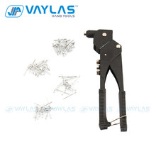 Rivet-Gun Hand-Riveter Interchangeable VAYLAS with Swivel-Head Nozzles Universal-Repair