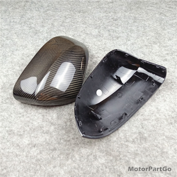 1 PAIR Real Carbon fiber Rearview Mirror Caps For X3 F25 X4 F26 X5 F15 X6 F16 Mirror Replacement Original mirror cover 2014-2018 1