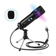 BENTOBEN Professional USB Condenser Microphone Audio Recording Microfone for PC Laptop Microfono Live Streaming Youtube VS K669