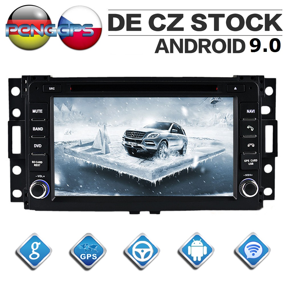 Dvd-Player Autoradio Hummer H3 Headunit Android-9.0 Gps Navigation WIFI Stereo Octa Core