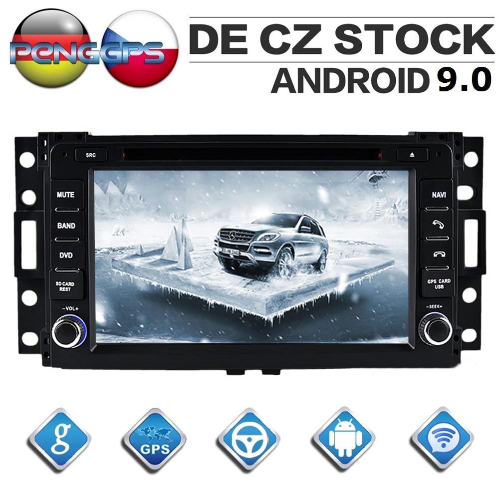 Dvd-Player Autoradio Hummer H3 Headunit Android-9.0 Gps Navigation WIFI Stereo Octa Core