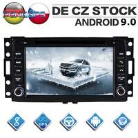 Octa Core CD DVD Player 2 Din Stereo Android 9.0 Car Radio for HUMMER H3 2006 2009 GPS Navigation Autoradio Headunit WIFI FM