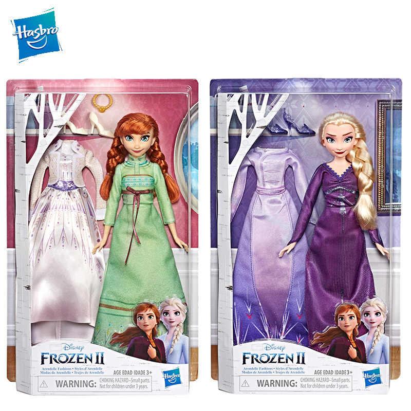 Hasbro Disney Princess Frozen Elsa Anna olaf Ajaib Berputar Petualangan Boneka Fashion Yang Menyala Pakaian Terinspirasi Oleh 2 Film