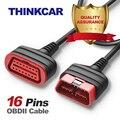 ThinkCar ThinkDiag OBD2 удлинитель универсальный 16 контактный штыревой разъем для автомобиля диагностический удлинитель автомобильный адаптер OBD 2 - фото