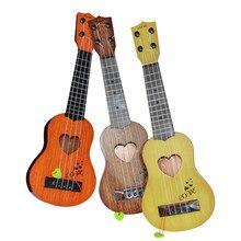 Музыкальный инструмент для начинающих Классическая гитара укулеле Образовательный музыкальный инструмент игрушка для детей Гавайская гитара подарок#251211