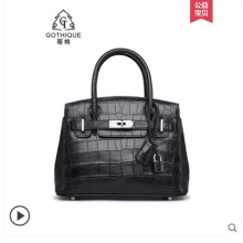 gete New crocodile skin handbag for women Thailand belly bag one shoulder