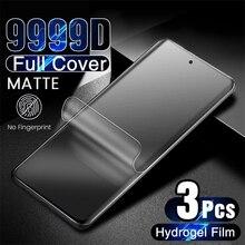 3PCS 9999D pellicola opaca in idrogel per Samsung Galaxy A 12 32 42 52 72 71 M 31 51 M21 M31S pellicola proteggi schermo glassata non in vetro