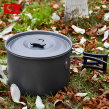 Outdoor camping cooker picnic folding pot 4-5 Person Picnic portable hot boiling water and cooking single