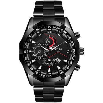 Mens Watches Top Brand Luxury Stainless Steel Waterproof Calendar Business Chronograph Quartz-watch Male Clcok Relogio Masculino fashion quartz watch men watches top brand luxury male clock stainless steel watches mens wrist watch hodinky relogio masculino