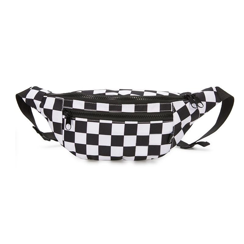 Waist Bag Woman Belt Brand New Fashion Zipper Phone Pocket Chest Bag Unisex Fanny Pack For Men Belt Pack Hip Belt Bags Money