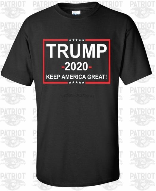 2019 تي شيرت أمريكي رائع من نوع دونالد ترامب للرئيس 2020 تي شيرت جمهوري تي شيرت