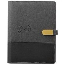 Беспроводной зарядный ноутбук креативный многофункциональный бизнес-ноутбук для офиса и зарядки канцелярские принадлежности подарок