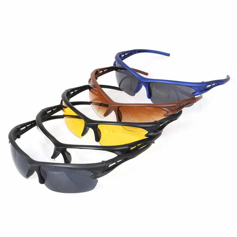 Gafas de ciclismo gafas moto gafas de sol de la motocicleta montar gafas de ciclismo de hombres a caballo corriendo deportes gafas con protección contra los rayos ultravioleta
