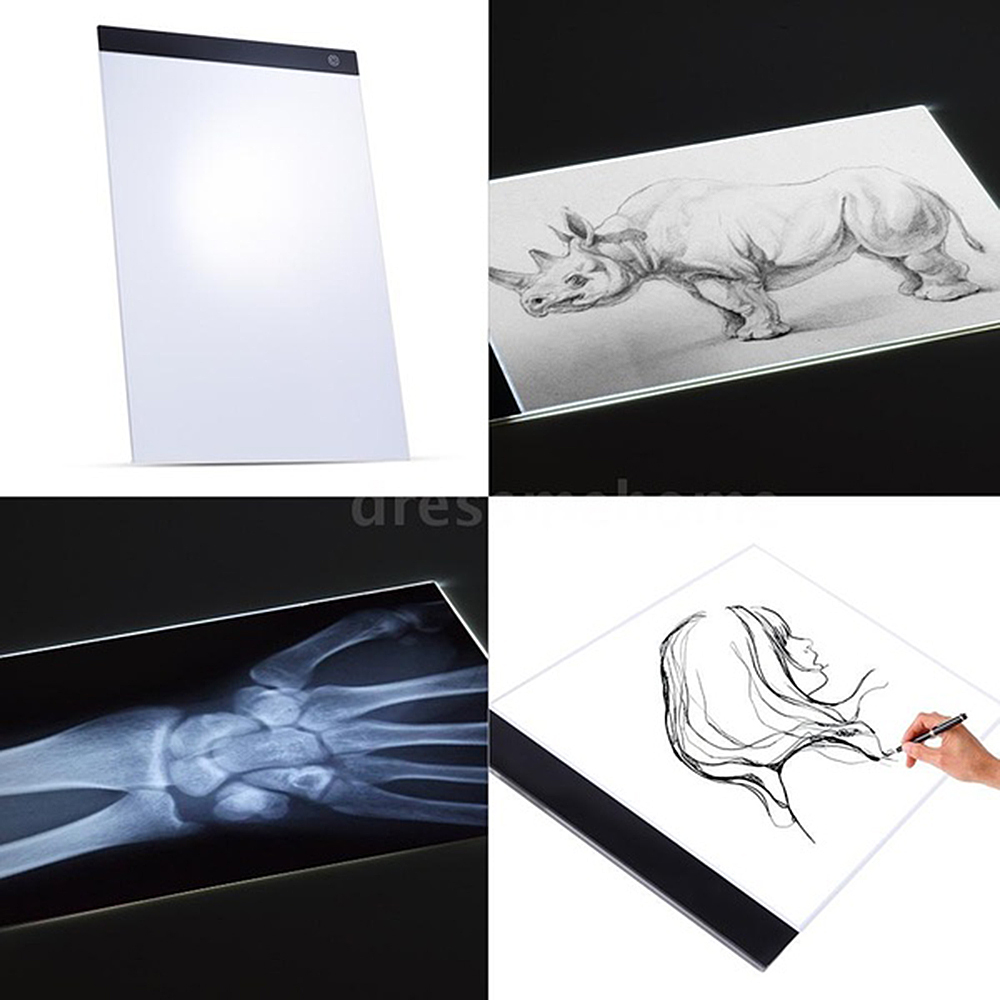 Tablet Drawing-Board Painting Kids Toys Electronic Coloring for Birthday-Gift LED Digital