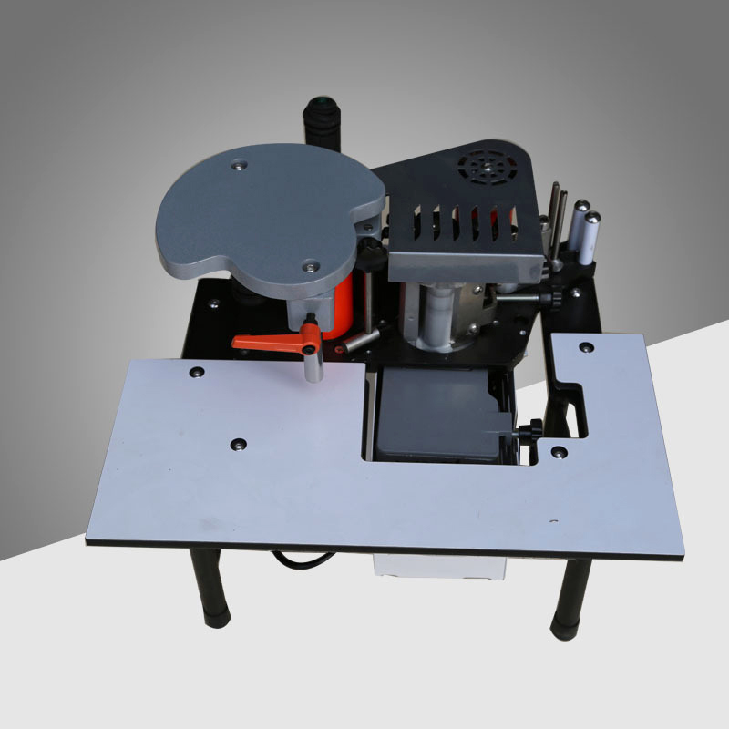 SC-40 Small Manual Edge Banding Machine Double Side Gluing Portable Edge Bander Woodworking Edge Banding Machine 110V/220V 1200W