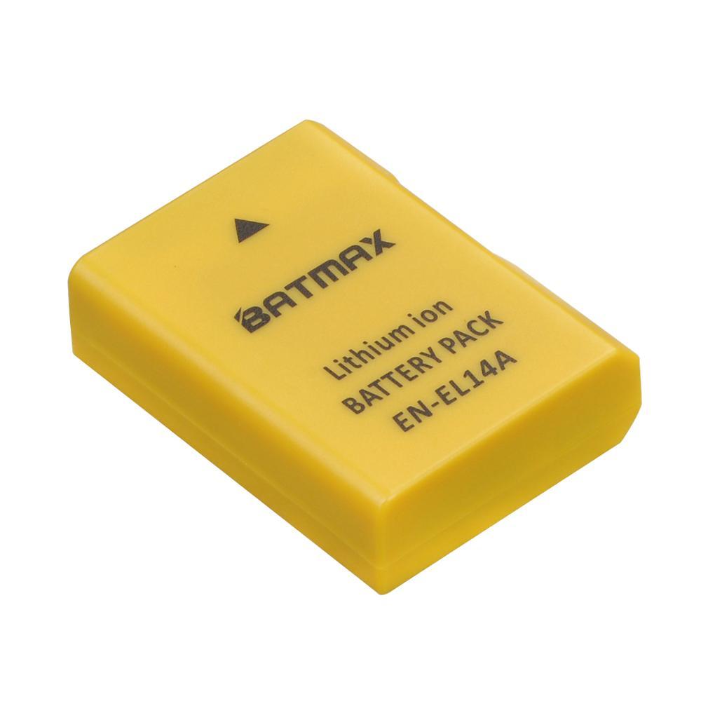 1 шт. 1530 мАч EN-EL14A батарея EN EL14 для Nikon D3100 D3200 D3300 D3400 D3500 D5600 D5100 D5200 P7000 P7800 P7700