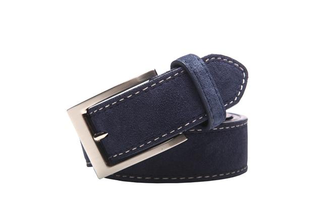 New Style Fashion Brand Genuine Leather Belt For Jeans Leather Belt Men Mens Belts Luxury Suede Belt Straps