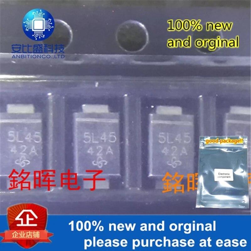 10pcs 100% New And Orginal VSSAF5L45-M3 Silk-screen 5L45 DO221AC In Stock