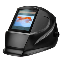 Window Welding Helmet Large View Automatic Dimming Full Face Safe Mask Solar Powered Shield Workplace Anti fall Protective Tool