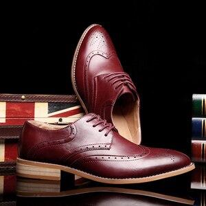 Image 5 - 2020 גברים עור נעליים מזדמנים עור אמיתי אופנה באיכות גבוהה יוקרה מעצב גברים מבטא אירי נעלי
