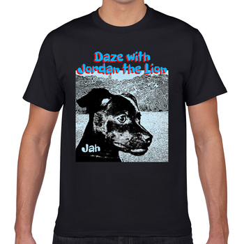 Tops camiseta hombres american jah Casual negro Geek corto hombre Camiseta XXXL