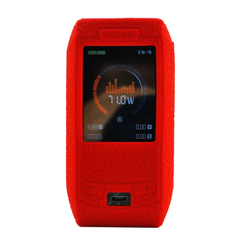 Silicone  case for polar 220W protective rubber skin texture cover mod vape kit shield wrap sleeve