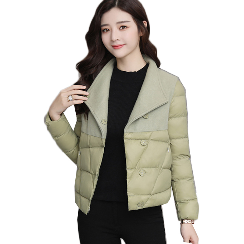 2019 Women Windbreakers Winter Coat Cotton Padded Long Sleeve Ladies Jacket Warm Women Coat Harajuku   Parka   Casual Outwear L356
