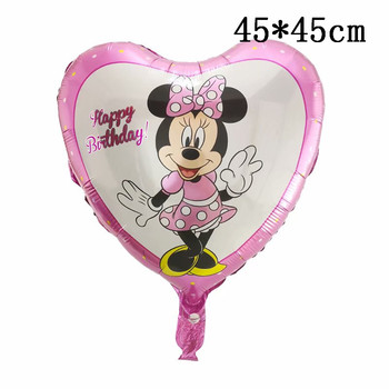 Giant Mickey Minnie Mouse Balloons Disney cartoon Foil Balloon Baby Shower Birthday Party Decorations Kids Classic Toys Gifts 10