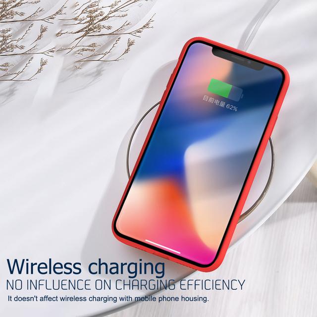Luxury Liquid Silicone Soft Case For iPhone 11 Pro Max XS XR X 7 8 Plus 6 S 6S 6Plus 7Plus 8Plus Coque i Phone Back Cover Bumper