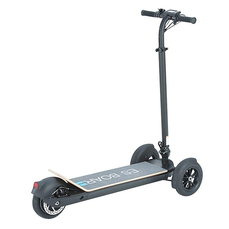 3 Wheel Golf Trolley Electric E Skateboard Self Balancing Scooter Long Range 500W Powerful Foldable For Club Free Shipping 2