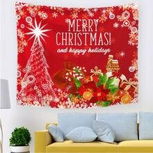 2020 рождественские украшения искусство гобелен ковер домашний