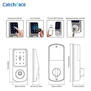 Image 5 - Bluetooth Thông Minh Khóa Cửa Điện Tử Mở Khóa với TTLock ỨNG DỤNG Chìa Khóa Dự Phòng Khóa Số Cho Văn Phòng Nhà Căn Hộ Khách Sạn Trường