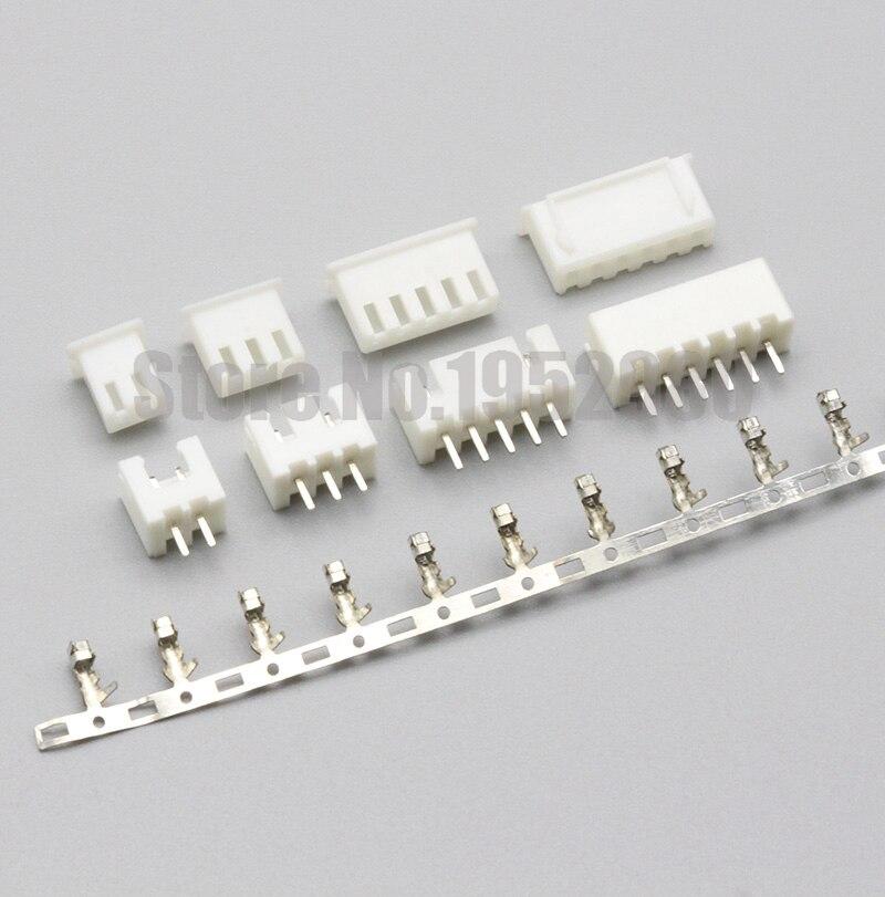 XH 2,54 разъем 2,54 мм шаг 2P 3P 4P 5P 6P 7P 8P 9P 10P 11P 12P 15P сквозное отверстие прямой штыревой разъем + Корпус + клеммы