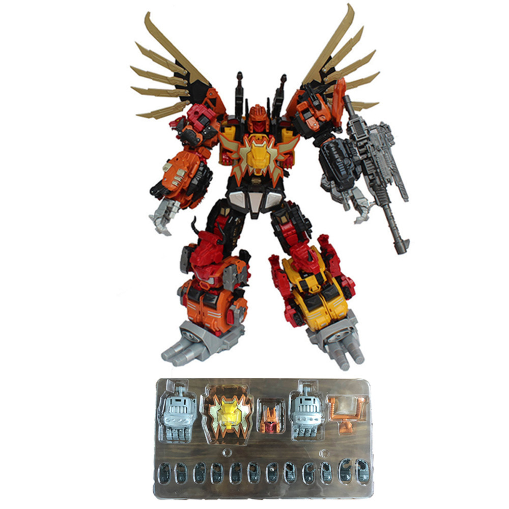 Jinbao G1 Transformation Action Figure Predaking Parts Up Date Toys Movie Model ABS Accessories Deformation Car Robot For Kids