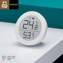 Youpin واضح العشب بلوتوث درجة الحرارة الرطوبة ميزان الحرارة الرقمي مقياس الرطوبة الاستشعار شاشة LCD المنزل الذكي